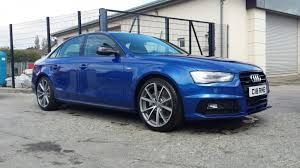 audi a4 wheel spacers audi a4 be sepang blue lowered spacers and tints removed rms