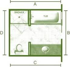 Small Bathroom Design Plans His And Hers Master Bathroom Floor Plan With Two Toilet Rooms