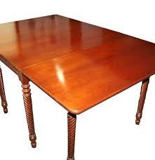 drop leaf coffee tables mid century inman gate leg drop leaf cherry dining table ebth