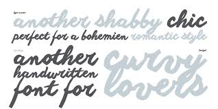 40 beautiful new calligraphy fonts for designers