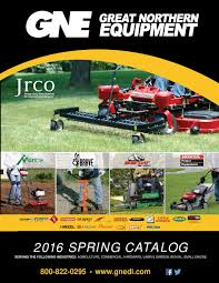 2016 great northern equipment spring wholesale catalog by great