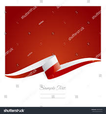new abstract poland flag ribbon stock vector 264655658 shutterstock