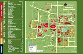 campus maps university of louisiana at lafayette