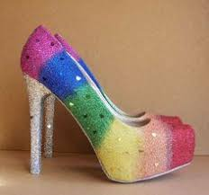 wedding shoes rainbow pin by madisyn warren on wedding rainbows boots