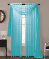 Turquoise Sheer Curtains Admirable Drapes In Sheer Curtains Sheer Curtain Panels To