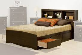 Platform Bed Drawers Bed Storage Bed With Headboard Platform Bed With