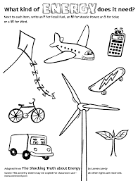 electricty worksheets for kids