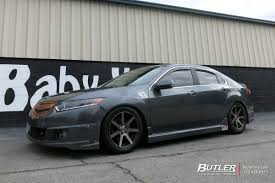 acura tsx acura tsx with 17in niche verona wheels exclusively from butler