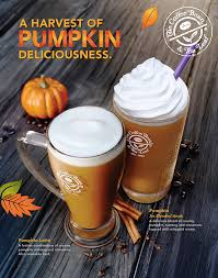 Coffee Bean Blended coffee bean tea leaf introduces fall drinks during september 8th