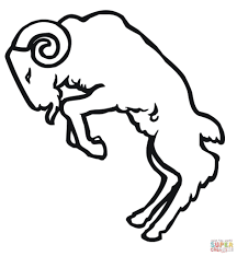 free printable domestic sheep coloring pages animal cartoon