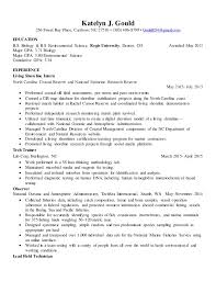 Biology Resume Examples by Resume