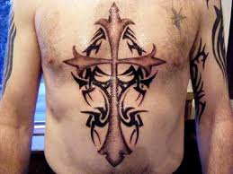 gothic cross tattoos tatring