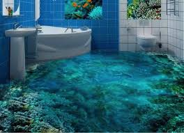 bathroom floor designs 13 3d bathroom floor designs that will mess with your mind