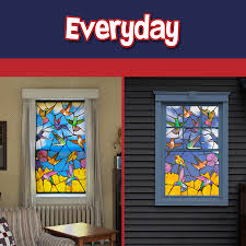 Lighted Christmas Window Decorations by Wowindow Posters Backlit Halloween Christmas And Everyday