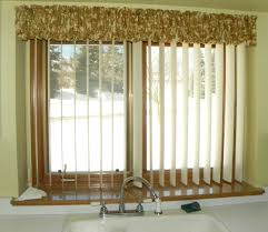 Vertical Blind Valance Ideas Brilliant Vertical Blinds Valance Build A Cornice Box For Less