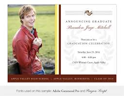 Graduation Invitation Cards Samples Apple Valley High Graduation Invitations And Announcement Cards