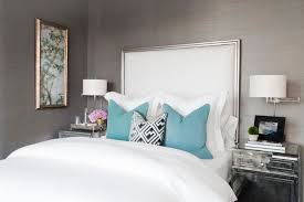 Headboard With Mirror by Turquoise Headboard Design Ideas