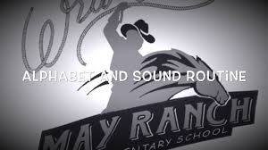 alphabet and sound routine may ranch youtube