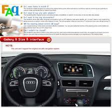 3g wifi bt auto radio dvd headunit gps navigation stereo for audi