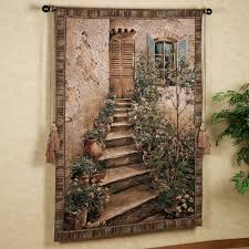 Tapestry On Bedroom Wall Tuscan Villa Ii Wall Tapestry