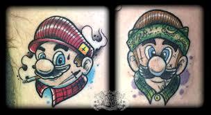 mario u0027s by state of art tattoo on deviantart