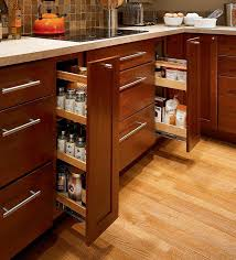 Kitchen Cabinet Roll Out Drawers Storage Solutions Details Base Pantry Pull Out Kraftmaid Our