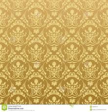 Extreme Ouro Floral Do Vintage Do Fundo Sem Emenda Do Papel De Parede  &HY37