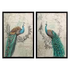 calima bird wall decor set of 3 hayneedle
