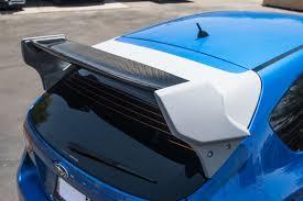 subaru hatchback custom rally new carbon fiber rally wing for subaru wrx sti hatchback u2013 agency