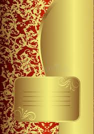 royal golden card stock vector image of texture classic 9306138