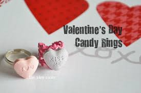 s day candy valentines day crafts candy rings
