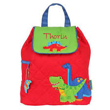 dino personalized quilted backpack by stephen joseph