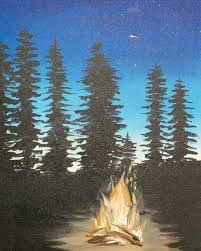 Paint Places by Campfire Lake Tahoe Paint U0026 Sip Studio Masterpieces Pinterest