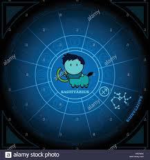Zodiac Sign Astronomy Of Sagittarius Zodiac Circle With Zodiac Sign Icon