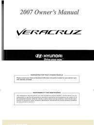 veracruz 2006 2008 seat belt gasoline