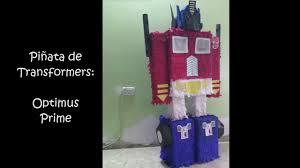 optimus prime pinata piñata de transformers optimus prime paso a paso