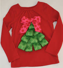 christmas shirt ribbon tree red 12 18 months christmas