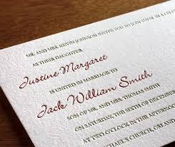 wedding invitation wording etiquette both parents hosti with