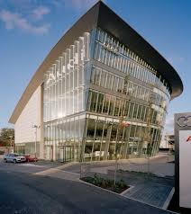 audi showroom world u0027s largest audi dealership with 190 000 sq ft opens in london