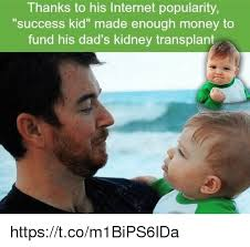 Success Kid Memes - thanks to his internet popularity success kid made enough money to