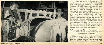 how to mold a fiberglass part page 1 of 1 bond from road track shares how to build a fiberglass