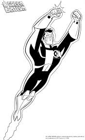 green coloring page green lantern coloring pages to print coloringstar