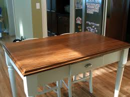 custom solid wood island top face grain afromosia custom wood