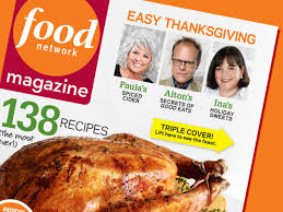 food network magazine november 2009 recipe index food network