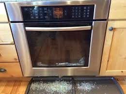 Replacement Oven Door Glass by Bosch Oven Door Glass Shattered During Self Clean