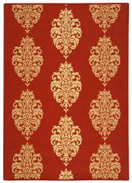Stripe Indoor Outdoor Rug by Red U0026 Natural Medallion Area Rug Safavieh Outdoor Rugs