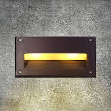 Recessed Wall Lights Outdoor Led Recessed Wall Light Outdoor Waterproof Ip54 Modern Wall L