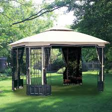 Pergola Gazebo With Adjustable Canopy by Big Lots Gazebo Replacement Canopy Covers And Netting Sets
