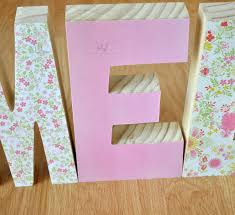 Letter Decoration Ideas by Wooden Decorative Letters Best Decoration Ideas For You