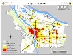 Crime Maps Portland State Criminal Justice Policy Research Institute